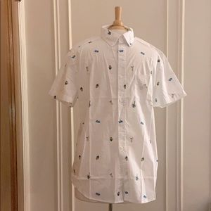 Aeropostale Button Up Short Sleeve NWT!